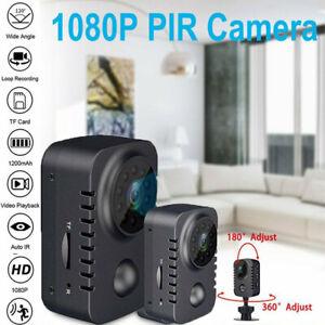 1080P HD Motion Video Camcorder Mini Camera Police Body DVR IR Night Micro Cam