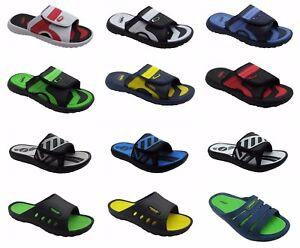Men-Sandals-Sports-Slip-on-Slide-Comfortable-Shower-Beach-Spa-Pool-Gym-Slippers