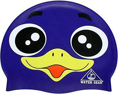 Water Gear Latex Swim Cap Purple
