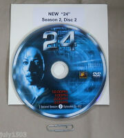 24 Season 2 Disc 2 Replacement Dvd, Free Shipping