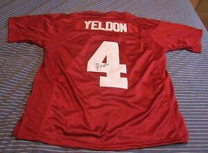 Yeldon Hand Signed Alabama Crimson Tide Logo Football W/ Jsa Coa Tj T.j Balls