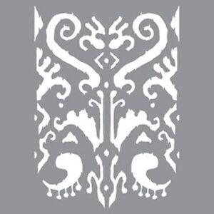 Americana Decor Stencils 12 X Ikat