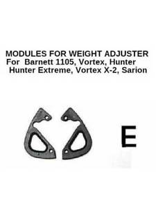 WEIGHT  ADJUSTER Modules Type E for Barnett Compound Bows