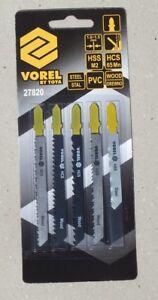 5x Stichsägeblätter Holz Metallschnellschneiden Sägeblatt  TG