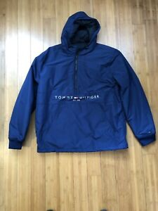 Tommy Hilfiger Mens New 1//2 Zip Sweater Royal Blue size 2XL