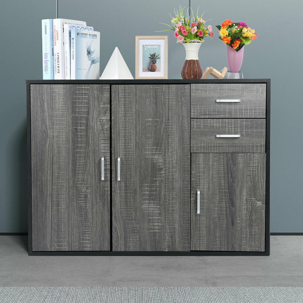 Modern Buffet Cabinet Table Server Sideboard Storage Dining Wood Mid Century Bar For Sale Online Ebay