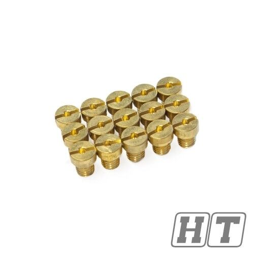 15 pièces Principaux Düsenset maxtuned pour gy6 Carburateur m4-taille 60-130