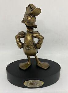 Disney Cruise Line Dream Admiral Donald Bronze Color Figurine New