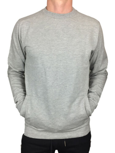 ALL SIZES //// KING KOUTURE MENS SWEATSHIRT WITH POCKET AND MAN PRINT IN GREY