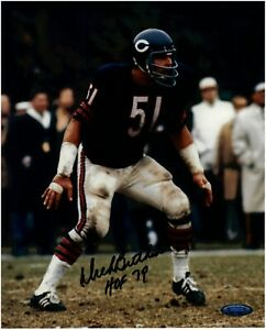 Dick-Butkus-Chicago-Bears-Autographed-8x10-Photo-With-HOF-79-Inscription-TRISTAR
