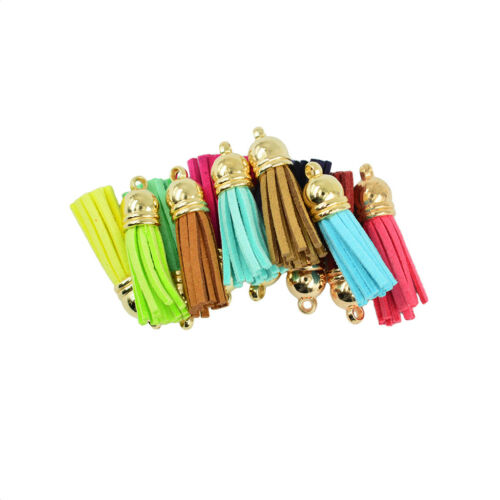 12pcs Tassel Charms Pendants Jewelry Findings For Necklace Making DIY Craft