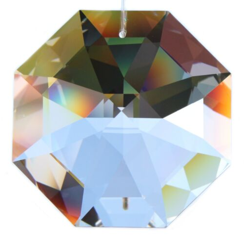 "Original SWAROVSKI® ELEMENTS Kristallglas Achteck Oktagons ""Regenbogenkristalle"""