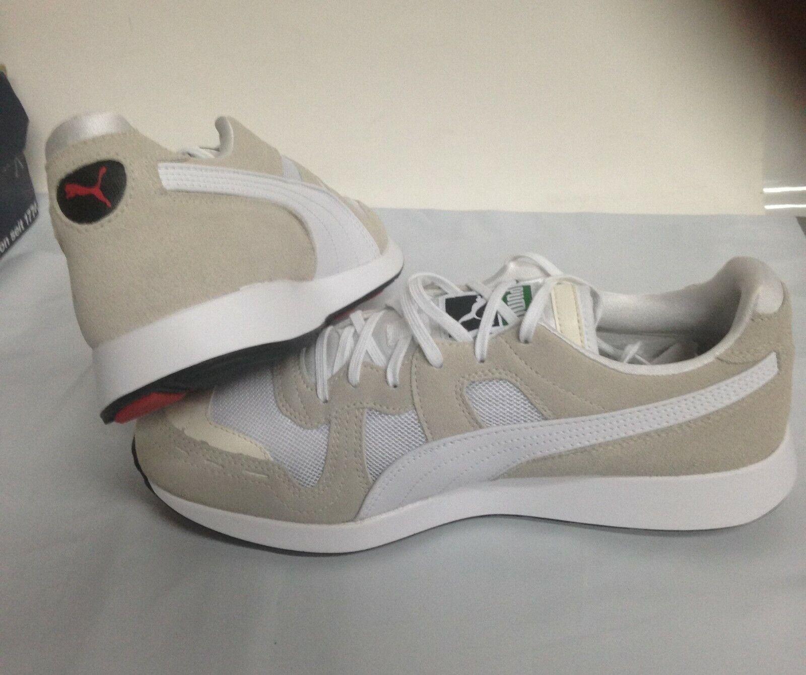 NIB Men's PUMA size 9 rs-100 core sneakers whisper white 369662-02