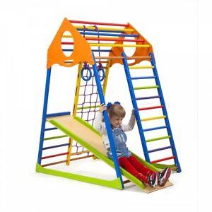 Kinder Klettergerust Spielgerate Spielcenter Sportgerat Turnwand