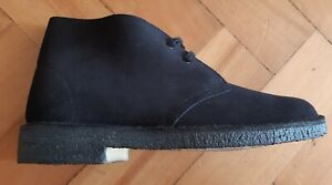 Womens Navy Suede Leather Lace Ups | eBay