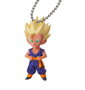 Dragon Ball UDM Special 04 Super Saiyan Son Gohan Capsule Mascot Swing Key Chain