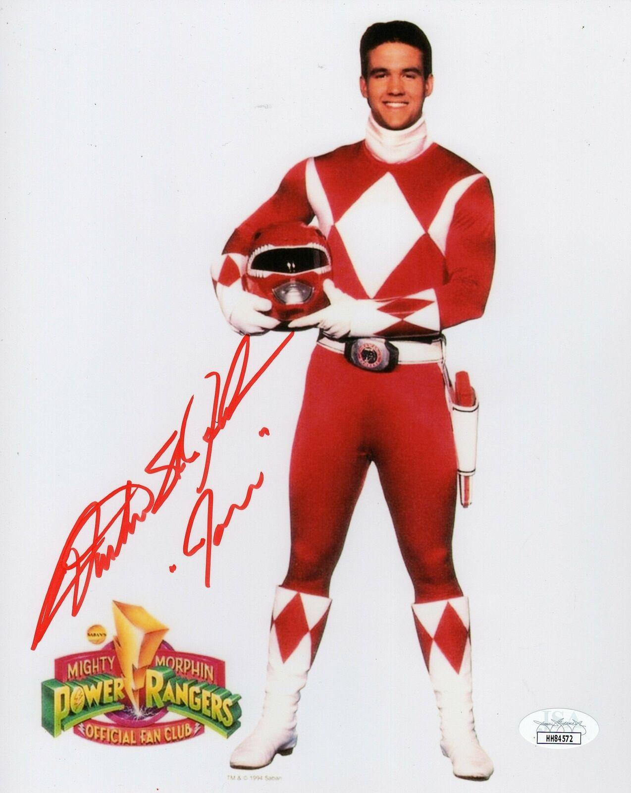 Austin St John Autograph Mighty Morphin Power Ranger 8x10 Signed Coa 2 For Sale Online Ebay