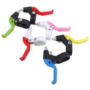 1 pair plastic kids children bicycle brake handle bike cycling brake lever UQ
