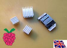 TF scheda Micro SD adattatore & Dissipatore In Alluminio Kit per Raspberry Pi
