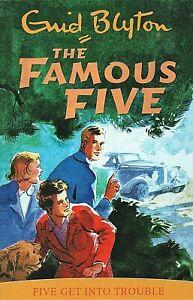 039-Five-get-into-Trouble-039-The-Famous-Five-Enid-Blyton