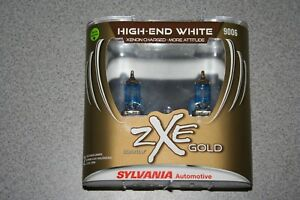 Sylvania-Silverstar-ZXE-GOLD-9006-Pair-Set-Headlight-Bulbs-Xenon-Fueled-NEW