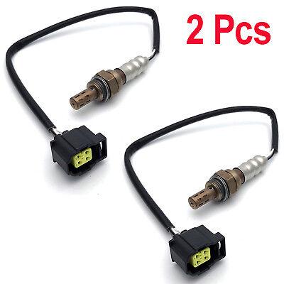 2Pcs O2 Oxygen Sensor Up /& Downstream For 2008-2010 Dodge Grand Caravan Avenger