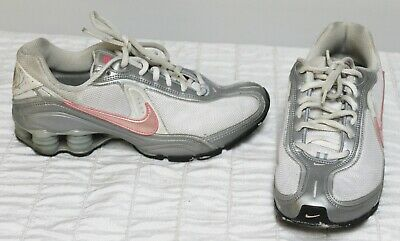 100% authentic 50933 c4cab Nike Shox Grey/Pink 2006 Sz 7.5 Athletic Shoes Running Womens   eBay