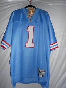 52557e20 New men's Reebok authentic NFL Jersey, Houston Oilers, Warren Moon ...