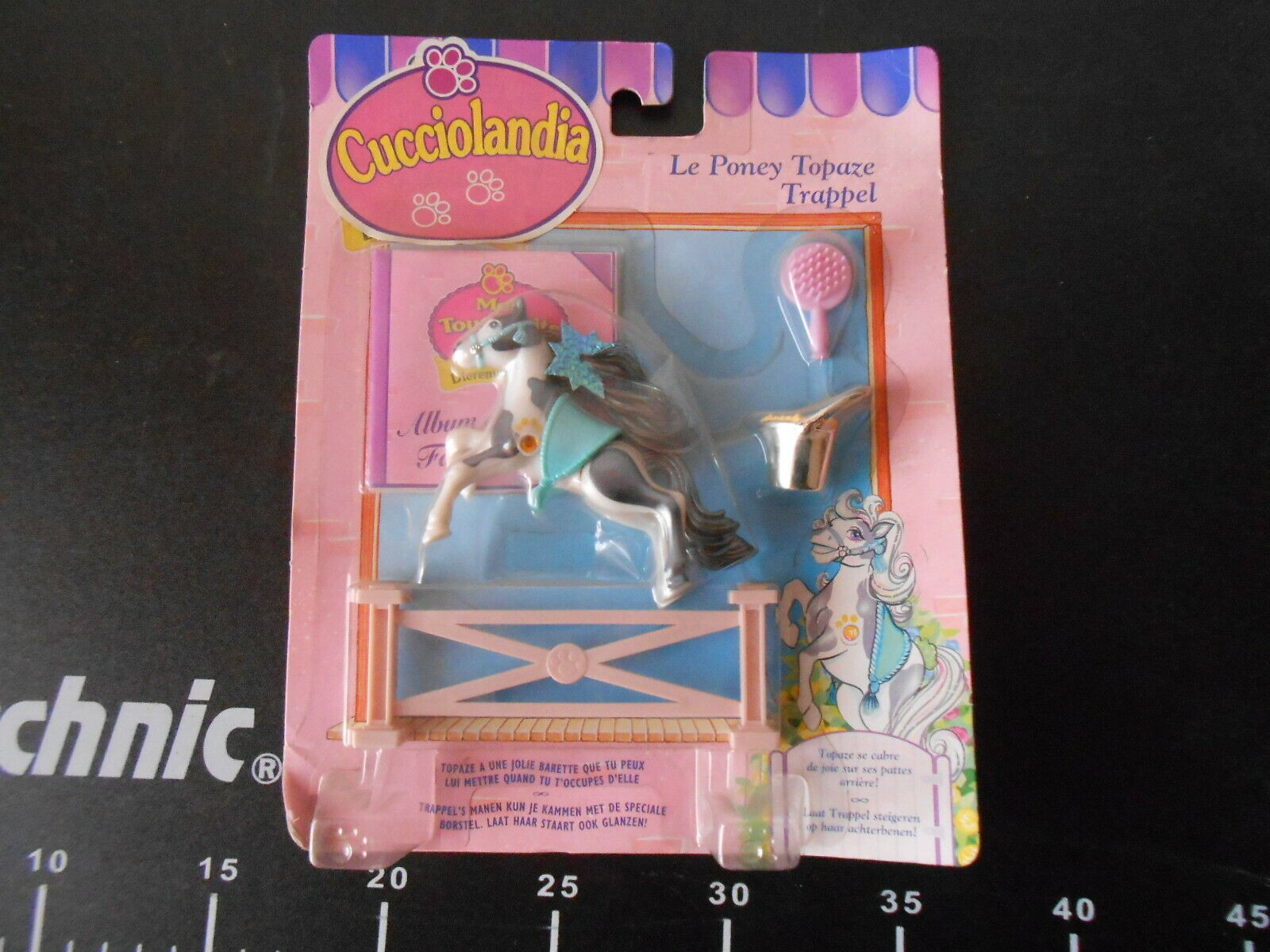 Littlest Pet Shop Cucciolandia Zoo Kenner Poney Topaze Trappel Horse Playset