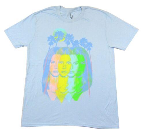 Lana Del Rey Endless Summer Tour 2015 Blue T Shirt New Official LDR Merch Soft