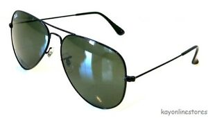 c9e929f45c Image is loading Ray-Ban-Aviator-Black-Frame-RB3026-L2821-62mm-