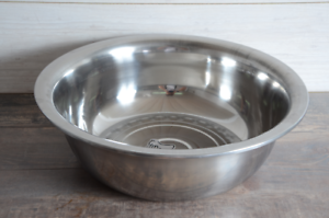 Large Stainless Steel Mixing Bowl 50cm Kitchen Salad Catering