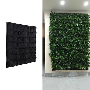 Image Is Loading 56 Pocket Wall Hanging Garden Planter Box Indoor
