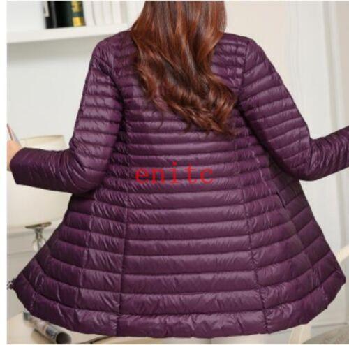 d'extérieur de vêtements femmes minces basse doudoune hiver manteau taille 2019 pour 7SXFq