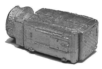 PASSENGER CAR DINER VENT  HO Model Railroad Unptd White Metal Detail Parts BKB36