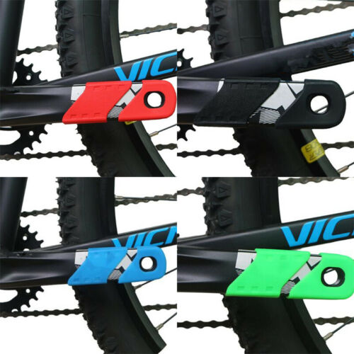 4Pc Bicycle Crank Cover Arm Sleeve Cycling Crankset Protect Chainwheel ProteNWUS