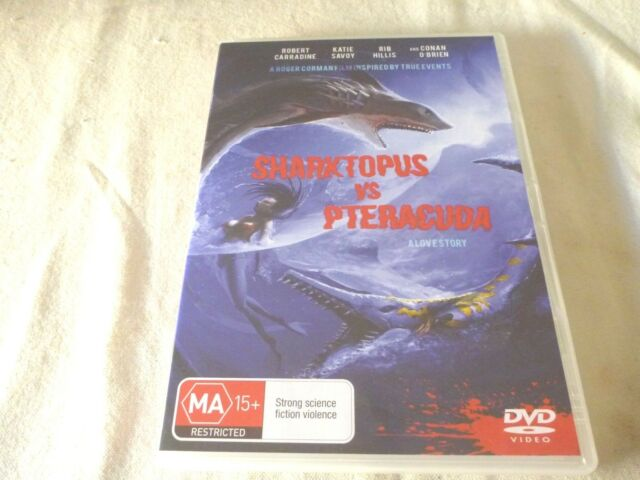 Sharktopus Vs. Pteracuda (DVD, 2016) Region 4
