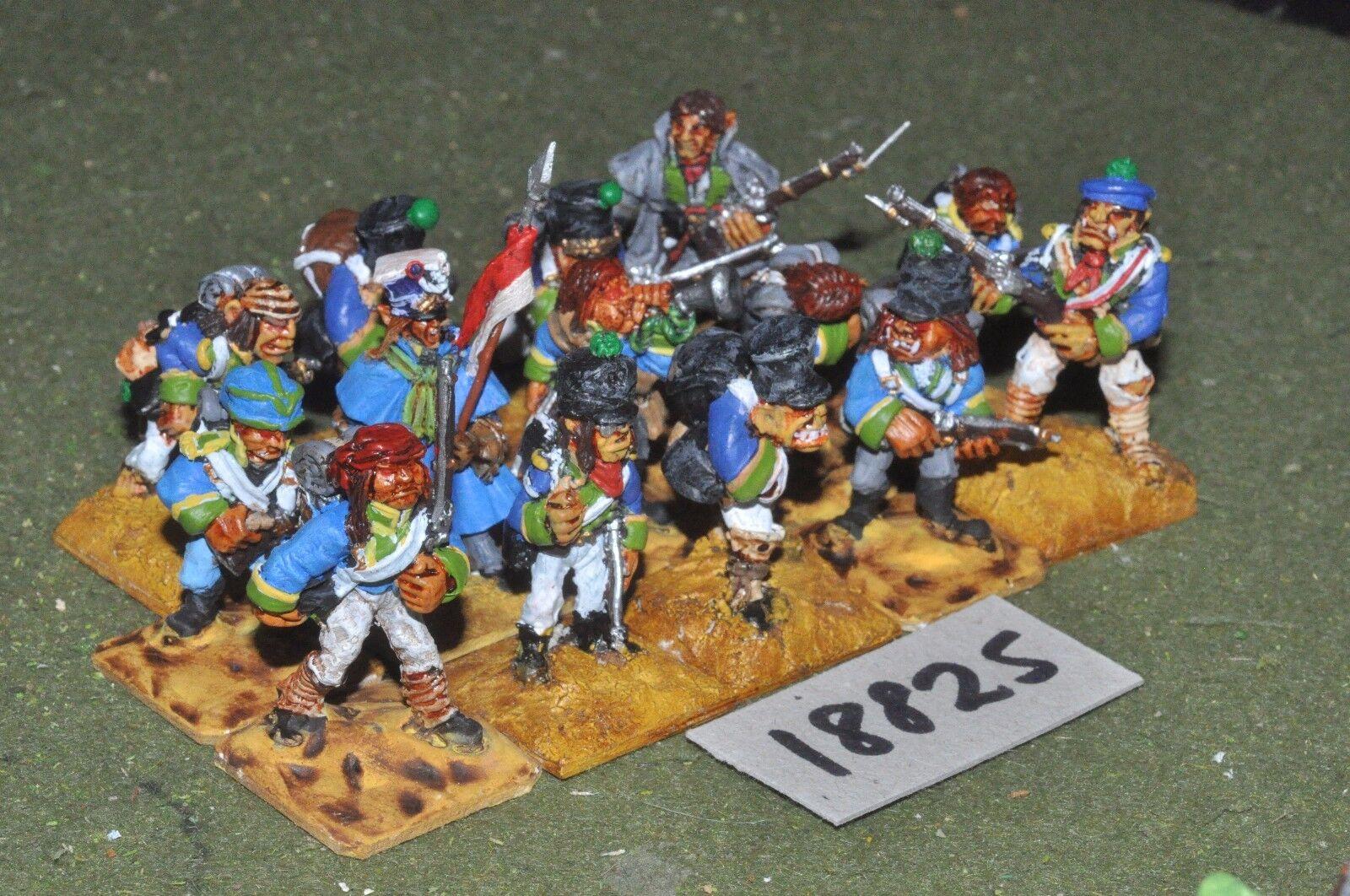 Flintloque fantasy orc giunelean legion voltiguers 14 infantry {16} (18825)