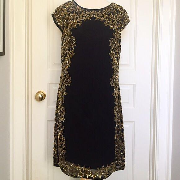 JS Collections Beaded Dress  Größe 4