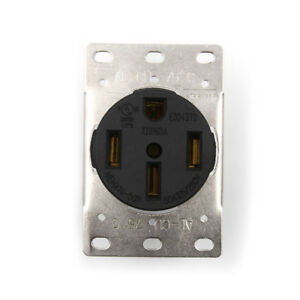 Nema 14 50r >> Details About 50a 125 250v Industrial Grade Nema 14 50r Straights Blade Us Four Holes Sockets