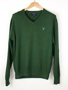 GANT-Men-Premium-Cotton-Knit-Sweater-Jumper-Size-M-ATZ642