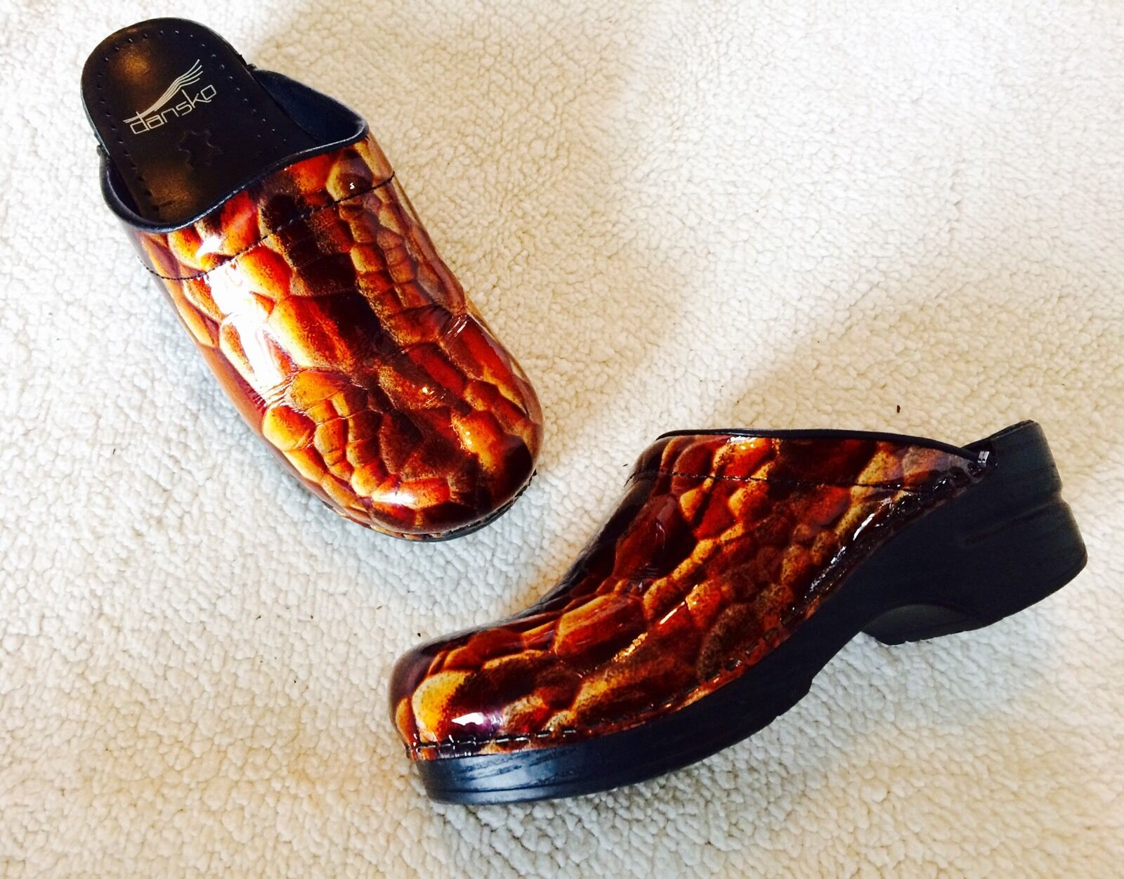 Para Para Para Mujer Zapatos Mulas Zuecos enfermería Flores Talla 36 Jirafa Imprimir.. muy agradable  bajo precio