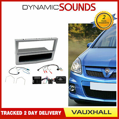 Car Double Din Fascia Panel For Vauxhall Astra Zafira Vectra Corsa Tigra