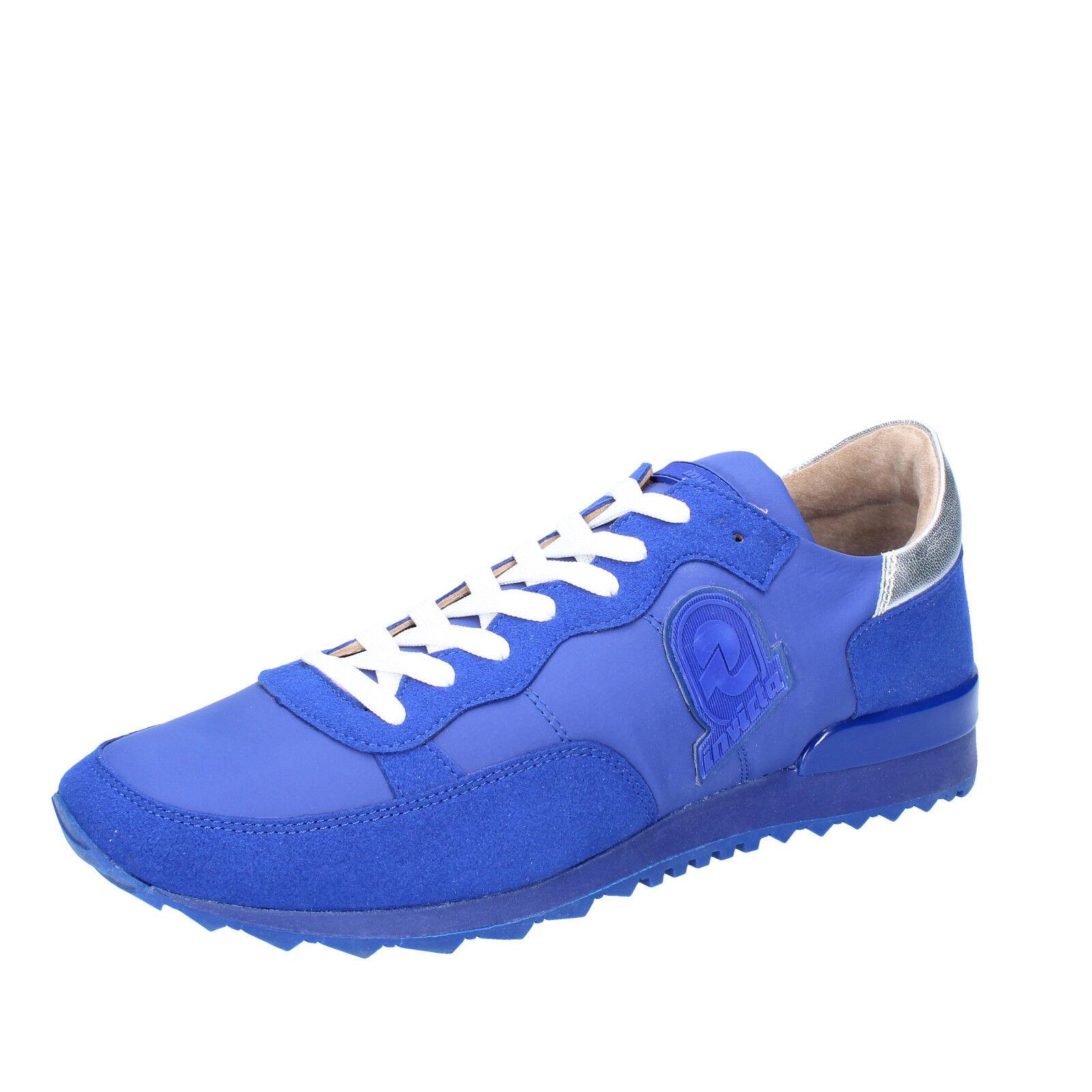 Mens shoes INVICTA 6 (EU 40) sneakers purple suede textile AB864-40