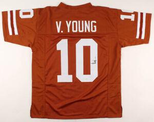 Details about Vince Young Signed Texas Longhorns Jersey (JSA Hologram) Titans Quarterback