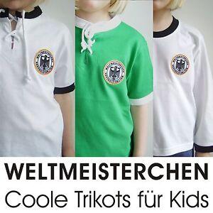 deutschland kinder baby retro fu ball trikot t shirt aus. Black Bedroom Furniture Sets. Home Design Ideas