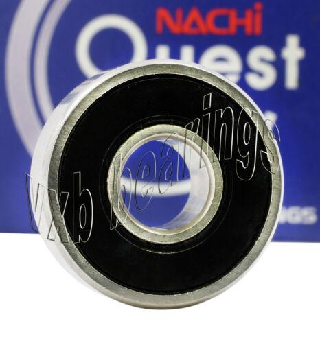 627-2RS Nachi Japan 7x22x7 Sealed Miniature Ball Bearing 13536