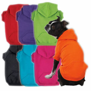 Zack-amp-Zoey-Dog-Hoodie-Coat-Jacket-Cotton-Bright-Colors-Comfortable-Pullover