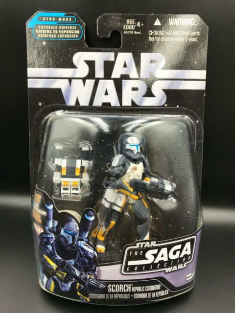 Star Wars SAGA Republic Elite Commando SCORCH 3.75