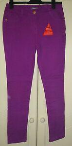 BNWT-ladies-pink-skinny-jeans-size-12